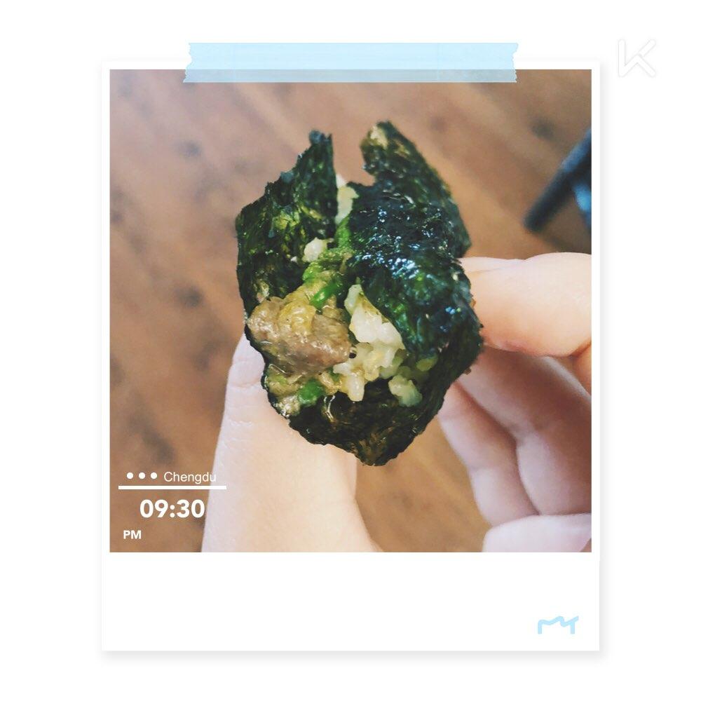 海苔牛肉卷七日瘦身汤煮出来有点辣图片