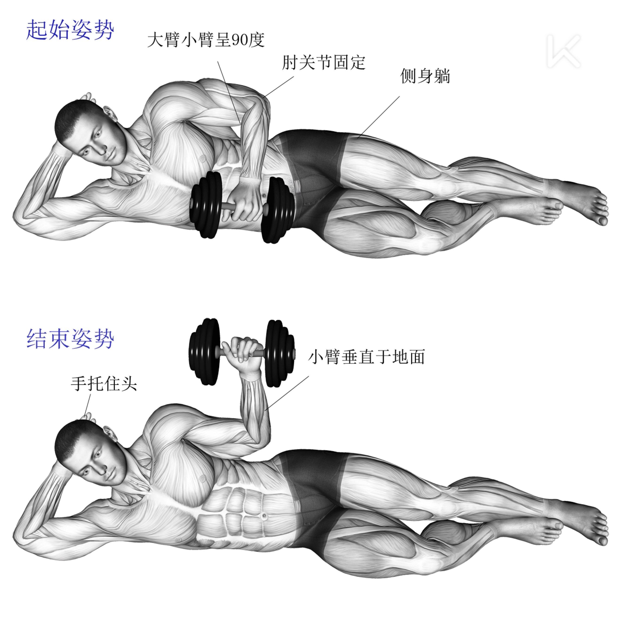 肩膀疼痛怎么办,如何加强肩袖力量  肩膀是身体中灵活性很强的部位,但他的力量又是相对较弱的,在训练中比较容易受伤。 以我这些年的健身经历,如果要对容易受伤的部位做个排名的话,我认为肩膀,腰和脖子可以进入我的Top 3。 为了让自己能够更加安全长久的锻炼下去,我们有必要对这些容易受伤的部位加以重视。今天这篇就着重讲一讲与肩膀活动息息相关的肌群  肩袖  首先科普一下,肩袖不是一块肌肉,它是附着在肩胛骨与肱骨(大臂骨骼)之间的4块肌肉的统称,分别是冈上肌、冈下肌、小圆肌以及肩胛下肌。 其中,前面三块
